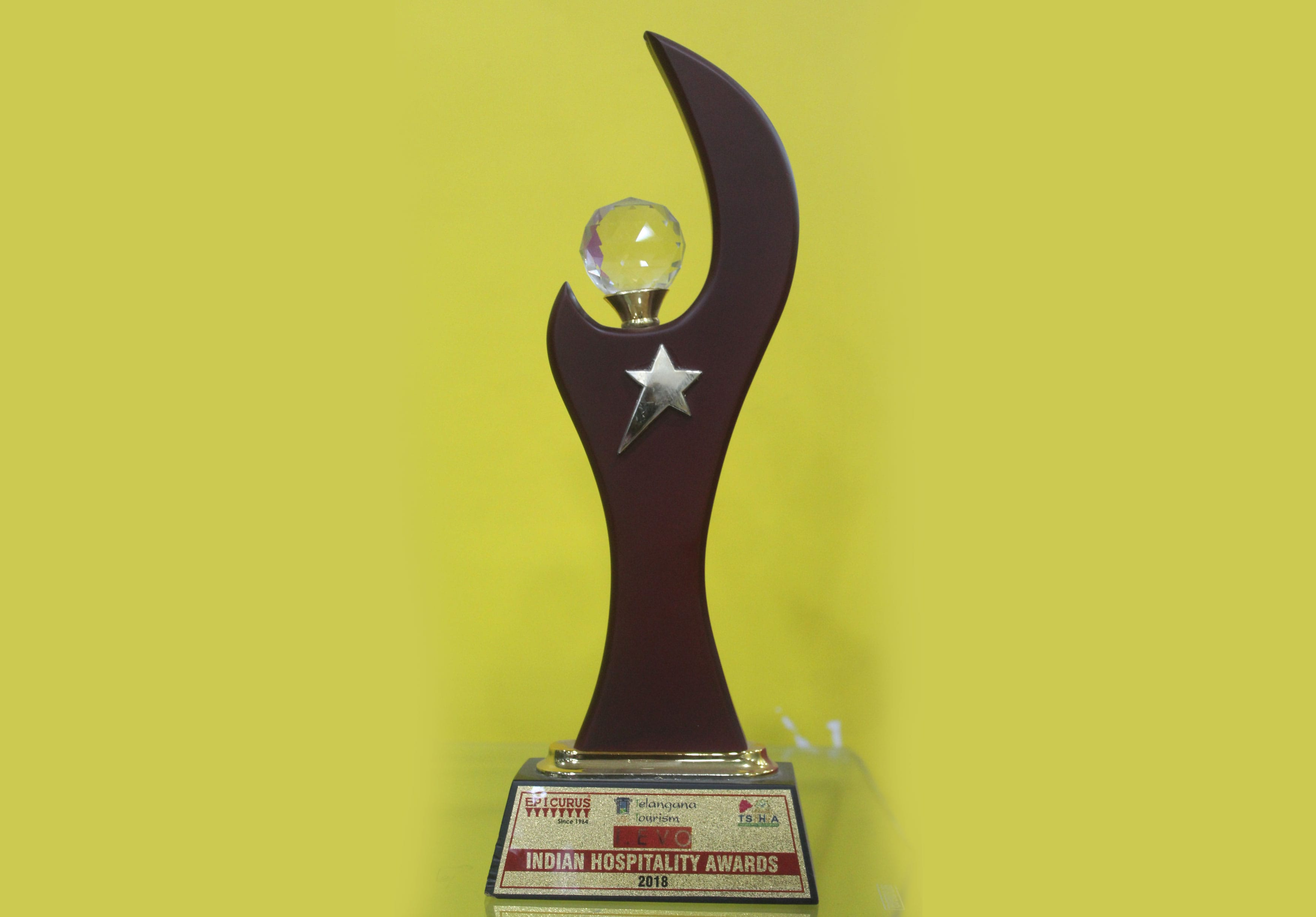 I EVO 12th Indian Hospitality Award for Best Hotel Management Coll